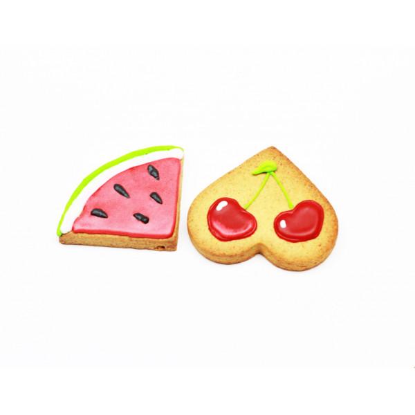 Dolcimpronte - Biscotti Frutta ass. - 60.5 gr (ASL Prot.0088901/16)