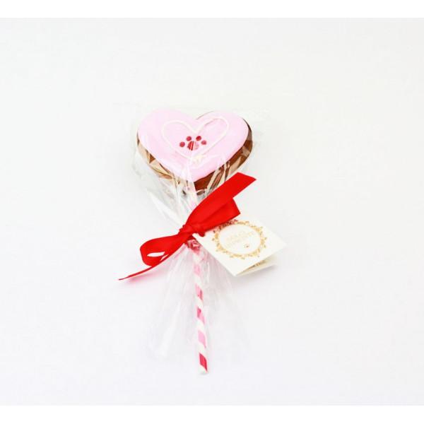 Dolci Impronte - Heart Lollipop gr 40