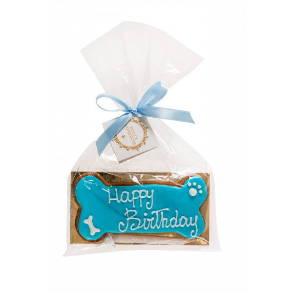 Dolcimpronte - Birthday Bone Azzurro - 72 gr ( ASL Prot.0088901/16)