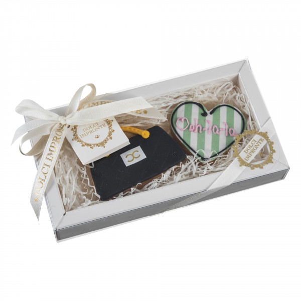 Dolcimpronte Luxury -Edith Bag and Heart- 60 gr