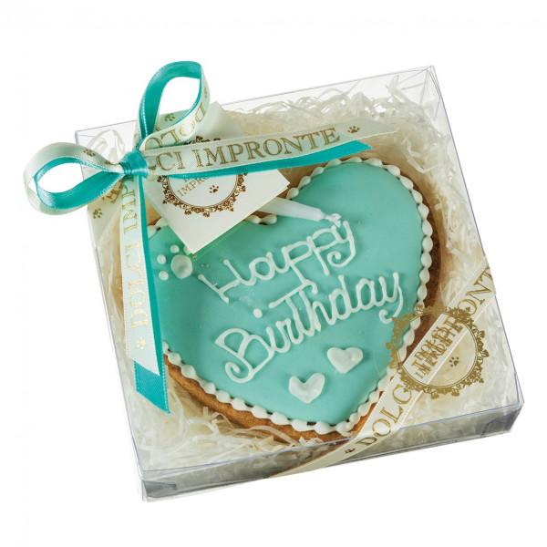 Dolcimpronte - Cuore di Torta Verde Tiffany