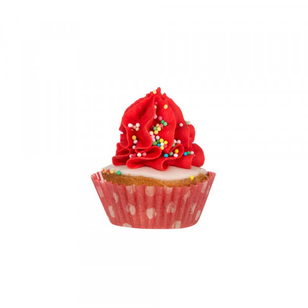 Dolcimpronte® -Xmas Cupcake - Red