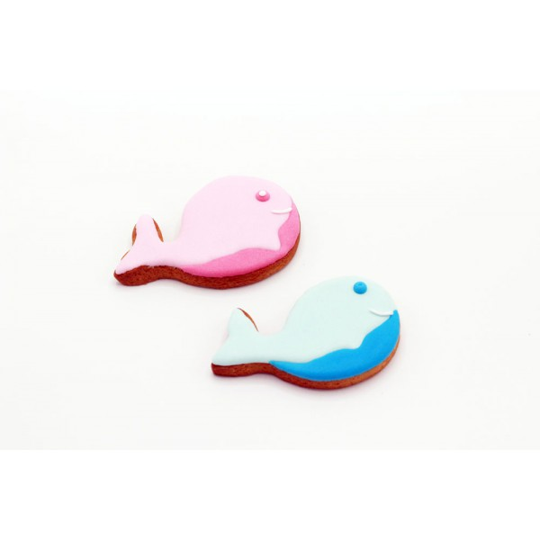 Dolci Impronte® - Whale - 2 Colors Pack - 80gr