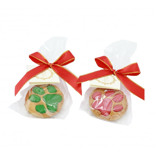 Dolci Impronte® Classic - 2 pcs - Xmas Little Paw -Red and Green - gr 20 each