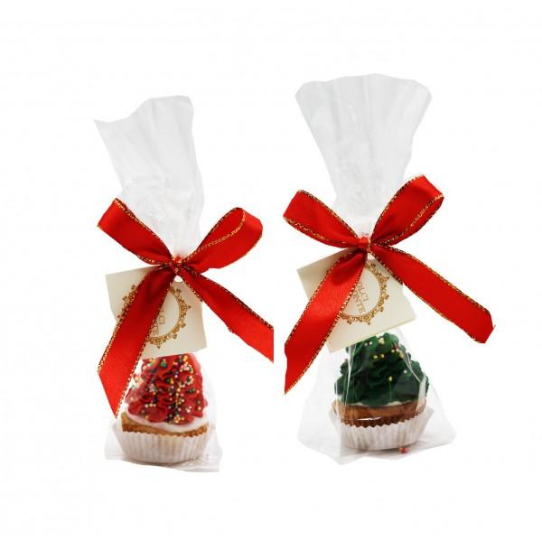 Dolci Impronte® -Xmas Cupcake - Red or Green - 46 gr